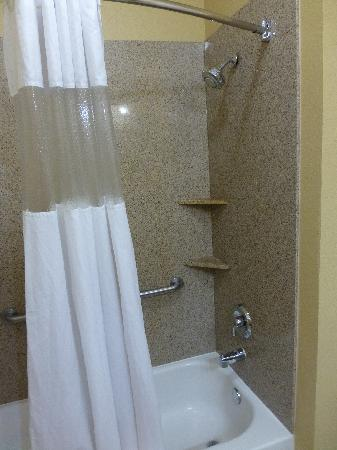 La Quinta Inn & Suites Vicksburg: Shower