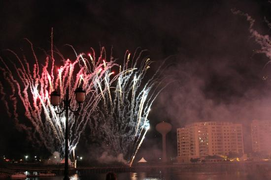 Crane's Roost Park: Fireworks on July 3