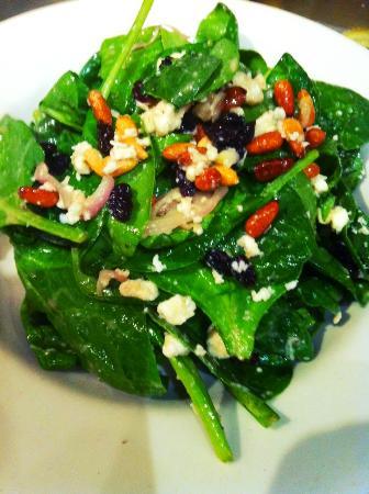 Park Corner: Spinach Salad