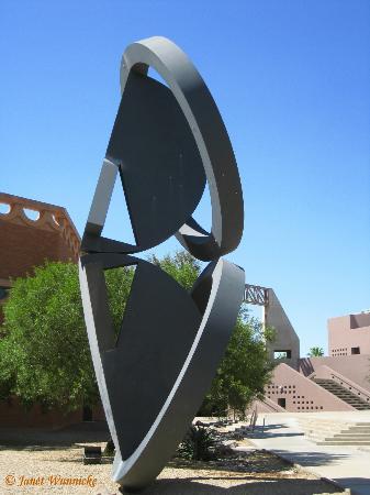 Arizona State University Art Museum: ASU Art Museum on the right
