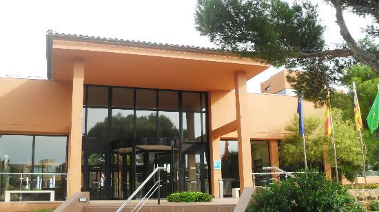 Protur Turo Pins Hotel: Eingang Hotel