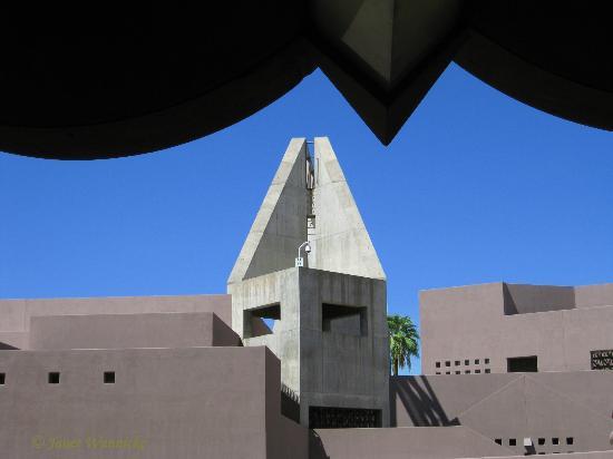 Arizona State University Art Museum: ASU Art Museum+music bldg edge