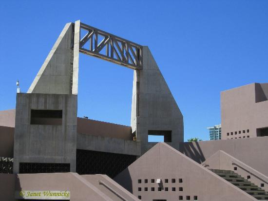 Arizona State University Art Museum: ASU Art Museum roof