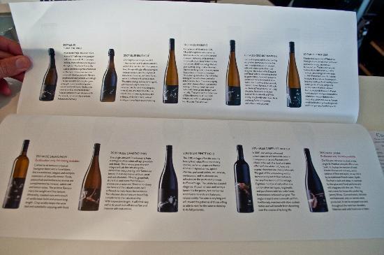Wine Bar Mona : Everything on tasting
