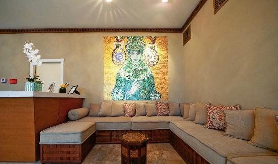 Impala Hotel: Theodora Mosaic in Lobby