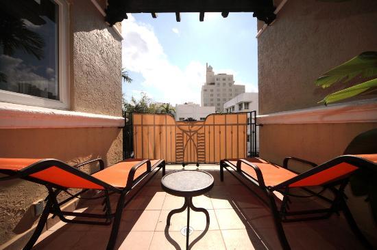 Impala Hotel: Balcony in Master Suite