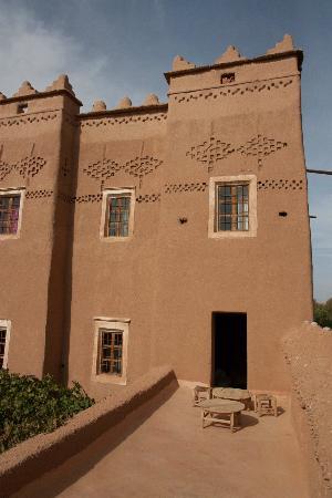 Kasbah Ait Moussa: terrazzo