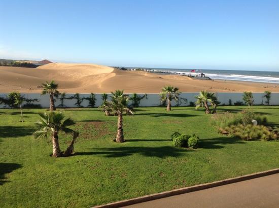 Sofitel Agadir Thalassa Sea & Spa : vue de notre chambre