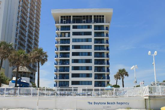 Daytona Beach Regency: The Regency from the beach!