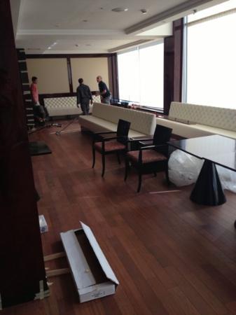 Le Palace d'Anfa : building work
