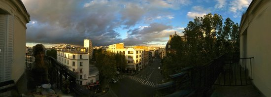 Hotel Baudin : Sunset from our terrace