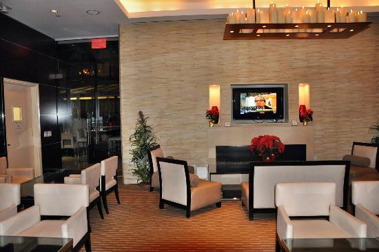room flat tv picture of staybridge suites times square. Black Bedroom Furniture Sets. Home Design Ideas