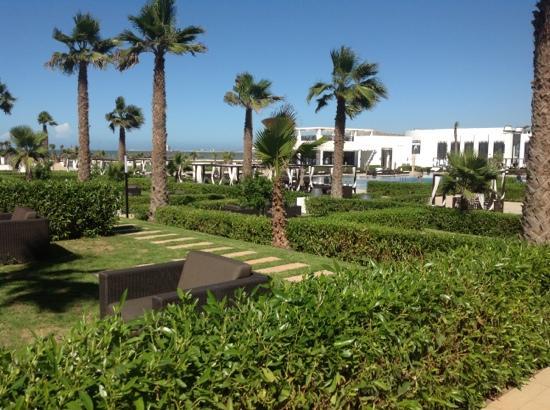 Sofitel Agadir Thalassa Sea & Spa : les jardins