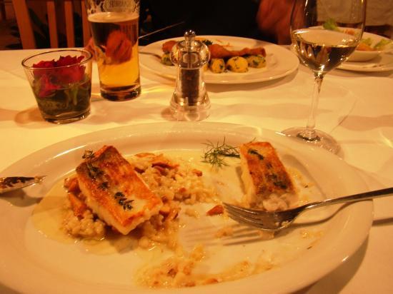 Heinzle: Fish and wine: perfect