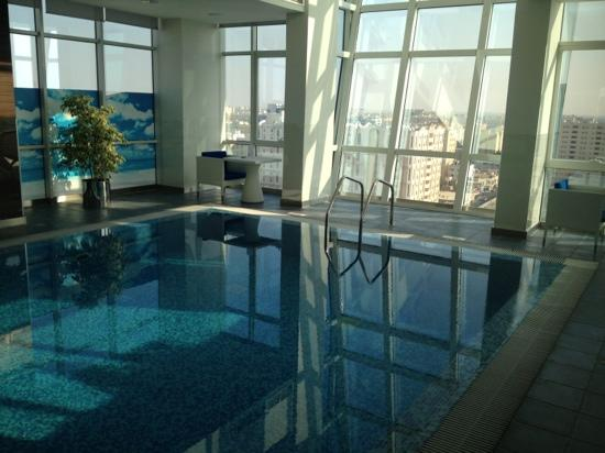 Ramada Encore Doha: pool and view