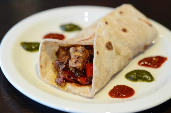 The Chill Out Cafe: Chicken Masala Wrap