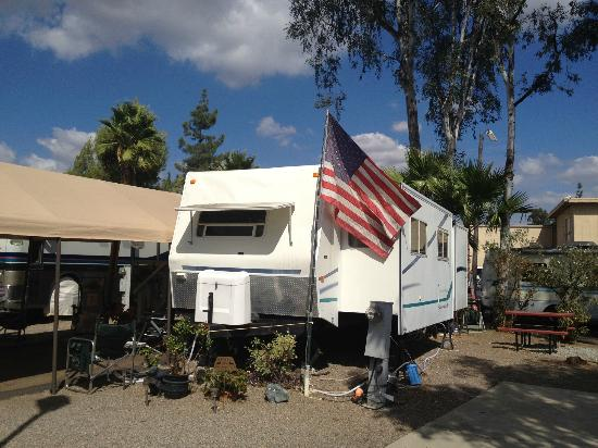 Vacationer RV Park Grounds And Sites