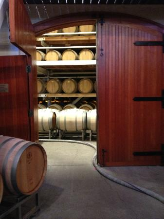 Jordan Vineyard & Winery: cellar