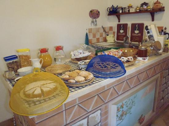 Agriturismo Podere micitto: La colazione