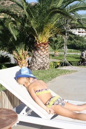 Hotel Alianthos Garden: pool area