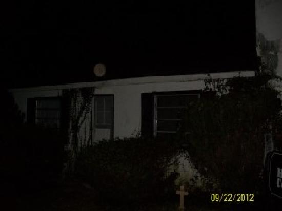 The Haunted Cottage / Booth House: This is the awsome orb meant for last post of pics