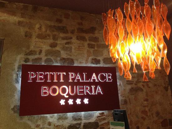 Hotel Petit Palace Boqueria Garden: Eingangsbereich