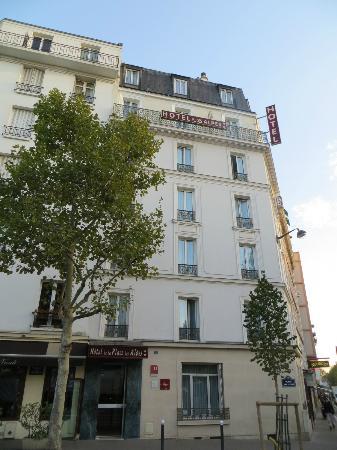 Hotel de la Place des Alpes: esterno