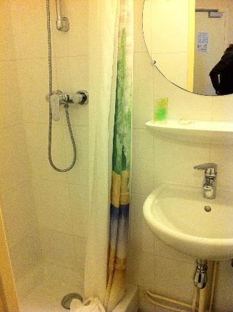 Hotel de la Place des Alpes: bagno doccia