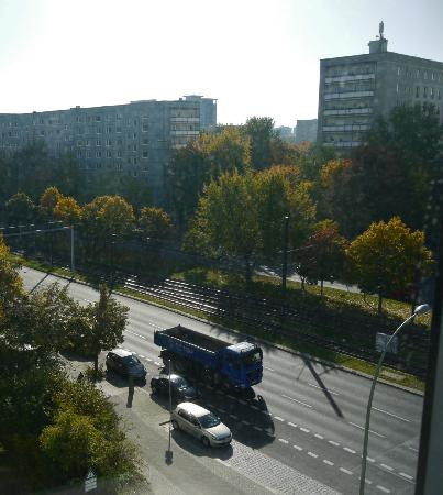 Ibis Budget Berlin Alexanderplatz: Our View East onto Mollstrasse