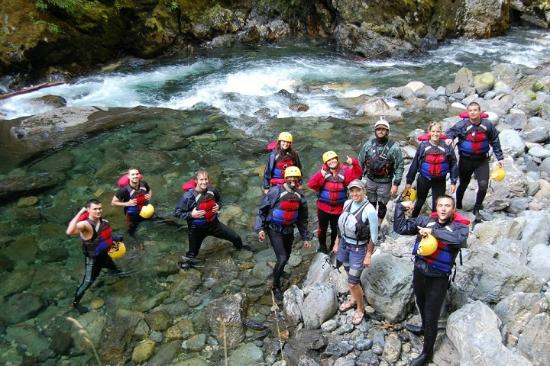 Adventure Cascades: Sauk group shot