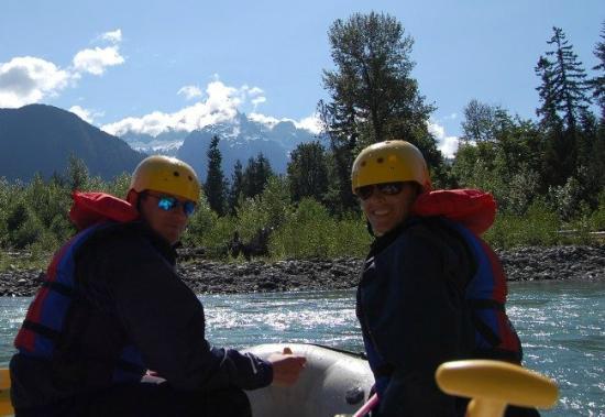 Adventure Cascades: Great views on the sauk