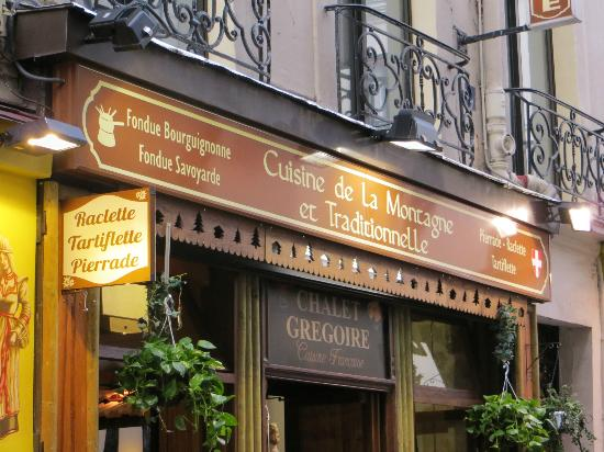 Chalet gregoire restaurant paris saint germain des pres for Restaurant saint gregoire