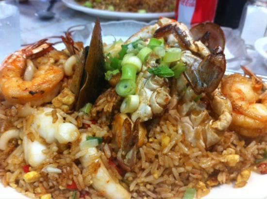 Griselda's Restaurant: Seafood Fried Rice
