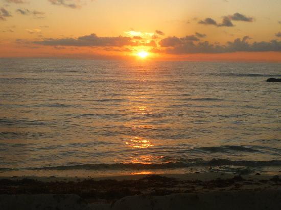 El Pez Colibri Boutique Hotel: stay here just for this sunrise!