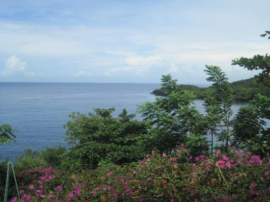 Ti Kaye Resort & Spa: The view from our house