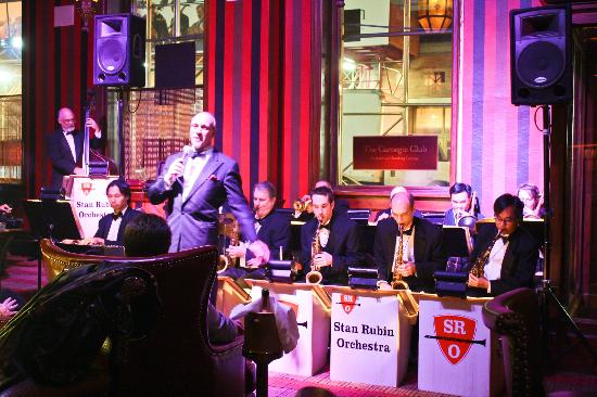 Carnegie Club : Steve and the Stan Rubin Orchestra