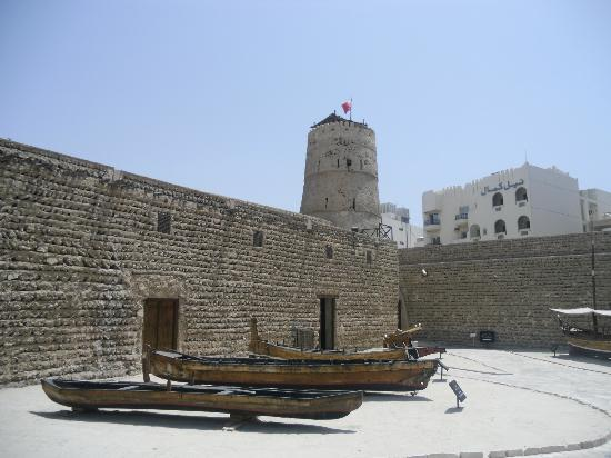 Arabian Courtyard Hotel & Spa: The old fort