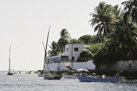 Peponi Hotel: Peponi at High Tide
