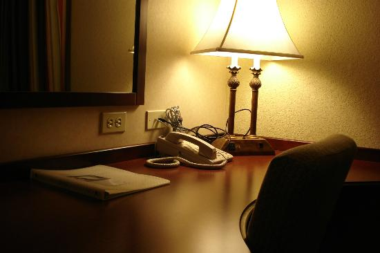 Hampton Inn Cambridge: beautiful lamp
