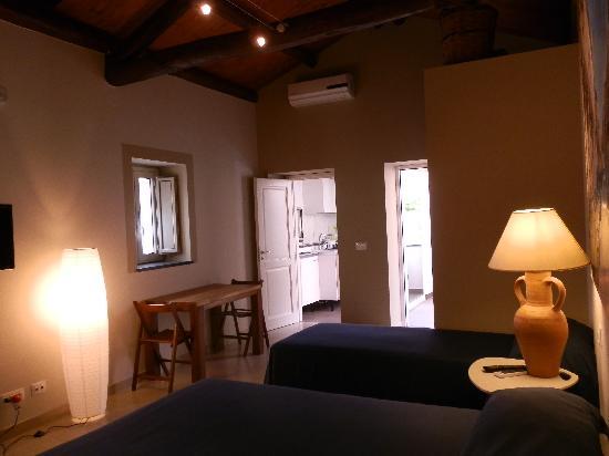 B&B Re Umberto: miniappartamento 3 posti letto