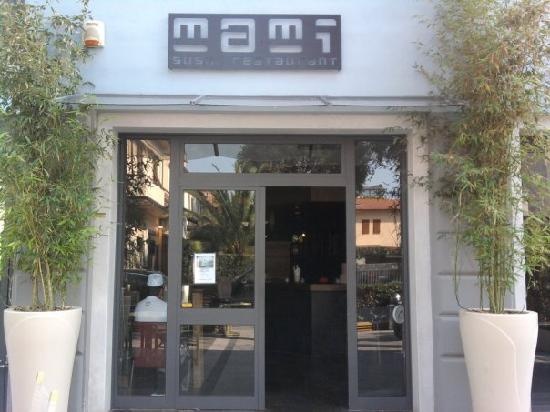 Mami Sushi Restaurant : ingresso