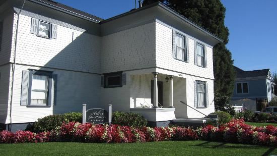 Arbor Guest House: Front/side view of B&B