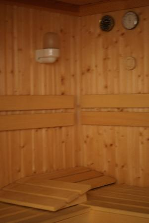 Blackbrook Lodge Caravan & Camp Site: sauna