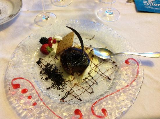 Hotel Porto Roca: Delicious chocolat