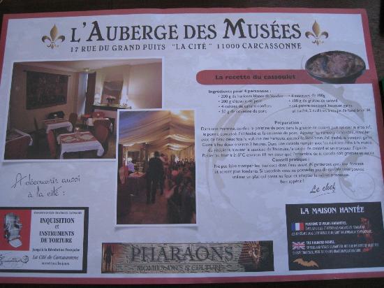 Le Restaurant des Musées : La recette en prime !