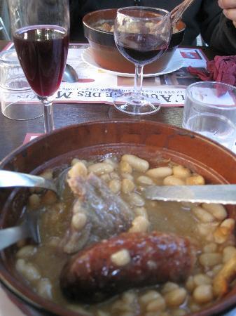 Le Restaurant des Musées : Le cassoulet, et le verre d'hypocras