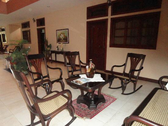Hotel Internacional Managua : Tipico y acogedor
