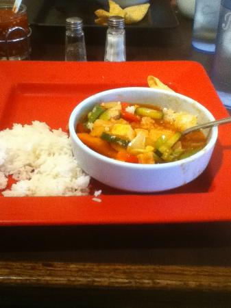 Pato Thai Cuisine: Sweet and sour tofu lunch special
