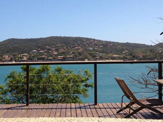 إينزوليتي بوتيك هوتل: Vista do deck restaurante 