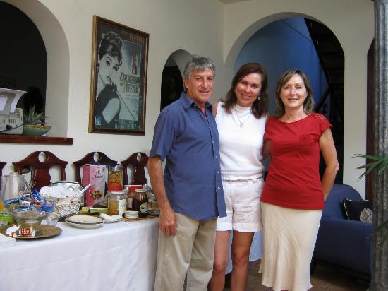 La Gioconda House Hotel: Vincenzo y Antonella